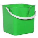 Ведро для мытья пола зелёное фото, купить в Липецке | Uliss Trade