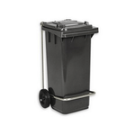 Бак (контейнер) на колесах с педалью для мусора 120 литров фото, купить в Липецке | Uliss Trade