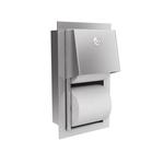 Держатель для двух бытовых рулонов туалетной бумаги встраиваемый в стену арт.5820052 фото, купить в Липецке | Uliss Trade