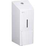 Дозатор жидкого мыла из эмалированной стали MERIDA STELLA WHITE MAXI, 800 мл. фото, купить в Липецке | Uliss Trade