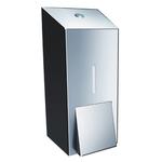 Дозатор жидкого мыла металлический MERIDA STELLA MAXI (полированный) фото, купить в Липецке | Uliss Trade