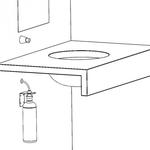 Дозатор жидкого мыла монтируемый на стену, конус, полированный фото, купить в Липецке | Uliss Trade