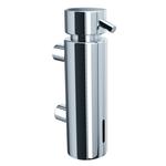 Дозатор жидкого мыла настенный MERIDA VIP (300 мл), хромированный фото, купить в Липецке | Uliss Trade