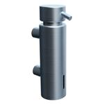 Дозатор жидкого мыла настенный MERIDA VIP (300 мл), матовый фото, купить в Липецке | Uliss Trade