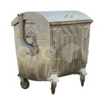 Оцинкованный мусорный контейнер 1100 литров фото, купить в Липецке | Uliss Trade
