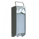 Сенсорный дозатор MERIDA для агрессивных жидкостей (1 л.), корпус из нержавеющей стали фото, купить в Липецке | Uliss Trade
