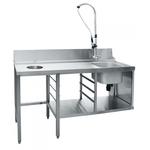 Стол предмоечный СПМП-6-7 для купольных посудомоечных машин фото, купить в Липецке | Uliss Trade