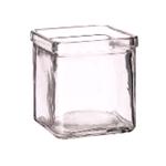 Банка квадратная д/подачи стекло 8*8*8см, 220мл P.L. фото, купить в Липецке | Uliss Trade