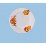 Тарелка мелкая 170 мм. (рисунок Смайлики 1) фото, купить в Липецке | Uliss Trade