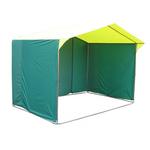Торговая палатка «Домик» 2,5 x 2 из квадратной трубы 20х20 мм фото, купить в Липецке | Uliss Trade
