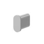 Заглушка для овальной трубы 30х15х1,5 мм / 3015 CH фото, купить в Липецке | Uliss Trade