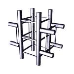 Соединитель крестообразный 4-х труб / TS-053