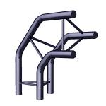 Угол 3-х труб вертикальный / TS-6 фото, купить в Липецке | Uliss Trade