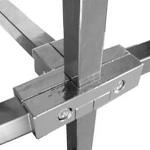 Соединитель / PR 013, серый алюминий фото, купить в Липецке | Uliss Trade