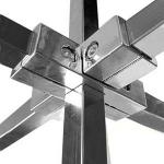 Соединитель / PR 014, серый алюминий фото, купить в Липецке | Uliss Trade