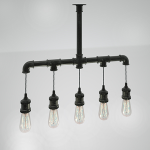 Люстра (5 ламп) / FIT 301.V2