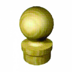 Заглушка декоративная шарик SL 04c фото, купить в Липецке | Uliss Trade