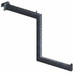Вешалка-меандр для стержня SL 64b