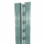 Стойка алюминиевая с двойной перфорацией SLT 01-2400/r