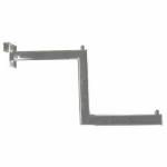 Кронштейн- меандр для прямоугольной трубы 456 С24 (G454 C24) Solo-Quadro фото, купить в Липецке | Uliss Trade