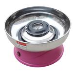 Аппарат для приготовления сахарной ваты STARFOOD (диам.290 мм) розовый фото, купить в Липецке | Uliss Trade