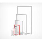 Пластиковая рамка с закругленными углами формата А4 PF-A4