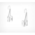 Крючок для подвешивания рамок на подвесной системе F-CLIP