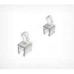 Фиксированный крючок для крепления пластиковых рамок UP-CLIP
