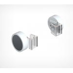 Круглый магнитный держатель рамки под углом 0° к поверхности MGT-RND-00