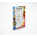 Подставка под меню с треугольным основанием (менюхолдер) ACR-MENU HOLDER фото, купить в Липецке | Uliss Trade