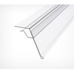 Ценникодержатель для крепления на стеклянные и другие тонкие полки GLS фото, купить в Липецке | Uliss Trade