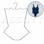 Контурная вешалка для нижнего белья и купальников EK431