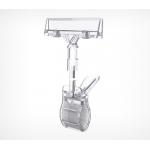Большой универсальный ценникодержатель на прищепке CLAMP-DBL фото, купить в Липецке | Uliss Trade