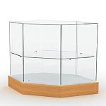Прилавок со стеклянным верхом / П-4С фото, купить в Липецке | Uliss Trade