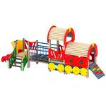 Паровозик для детской площадки (игровой комплекс) фото, купить в Липецке | Uliss Trade