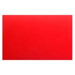 Доска разделочная 500х350х18 мм красный полипропилен фото, купить в Липецке | Uliss Trade