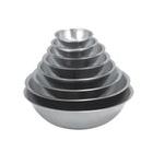 Миска сферическая, 2.2л., толщина стали 0.6 мм  см., нерж.сталь фото, купить в Липецке | Uliss Trade