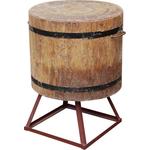 Разрубочная колода 500-550 мм сварная подставка дуб фото, купить в Липецке | Uliss Trade