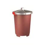 Бак пищевой 25 л 33,5*44см п/п бордовый фото, купить в Липецке | Uliss Trade