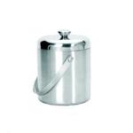 Емкость для льда d=15 см. 1,7 л. с крышкой-куполом, нерж. фото, купить в Липецке | Uliss Trade