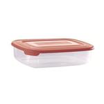 Контейнер для продуктов прямоуг. 0,45 л 16*10,5*4,5см п/п бордовый фото, купить в Липецке | Uliss Trade