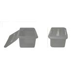 Контейнер для продуктов прямоуг. 8 л 30*23*16 см с ручкой с белым зажимом фото, купить в Липецке | Uliss Trade