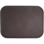 Поднос прорезиненный прямоугольный 460х360х30 мм коричневый фото, купить в Липецке | Uliss Trade