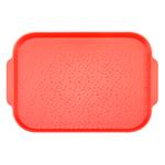 Поднос столовый 450х355 мм с ручками красный фото, купить в Липецке | Uliss Trade