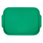 Поднос столовый 450х355 мм с ручками зеленый фото, купить в Липецке | Uliss Trade