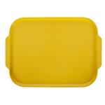 Поднос столовый 450х355 мм с ручками желтый фото, купить в Липецке | Uliss Trade
