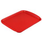 Поднос столовый из полипропилена 330х260 красный фото, купить в Липецке | Uliss Trade