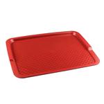 Поднос столовый из полипропилена 425х320 мм красный фото, купить в Липецке | Uliss Trade