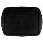 Поднос столовый из полипропилена 490х360 мм черный фото, купить в Липецке | Uliss Trade