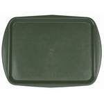 Поднос столовый из полипропилена 490х360 мм зеленый фото, купить в Липецке | Uliss Trade